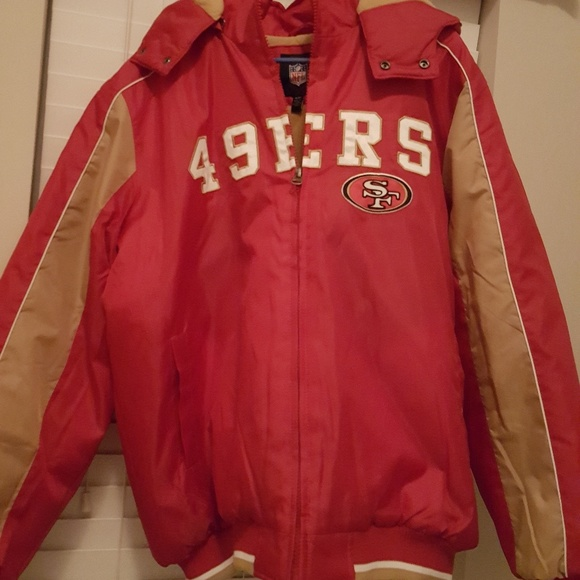 f2582377 NFL 49ers jacket